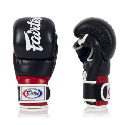 Fairtex FGV18 Black/Red Super MMA Sparring Gloves